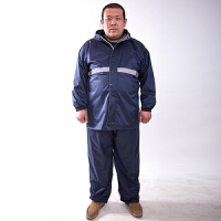 男装雨衣 男士加肥加大雨裤分体大码雨衣套装单件雨衣单件大码雨裤