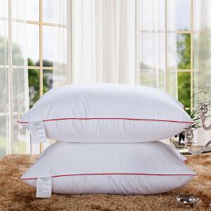 全棉枕头枕芯成人酒店羽丝绒护颈枕头单人学生