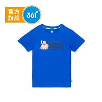 【线下同款】361度童装男童短袖T恤18年新款儿童打底衫中大童上衣K51833203