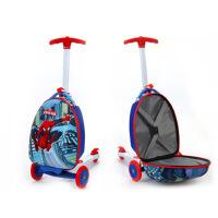 迪士尼 儿童卡通拉杆箱行李箱滑板车拉杆箱书包旅游小拖箱