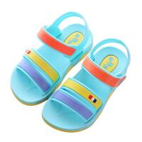 夏季男童凉鞋新款儿童沙滩凉鞋中大童软底小孩童凉鞋女