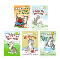 顺丰发货 I can read My First阶段 Mittens系列6本套装 Mittens  Follow Me, Mittens Mittens, Where Is Max?