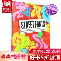 街头字体设计 Street Fonts from Around the World 英文原版 涂鸦字体设计 文字涂鸦 进口原版街头艺术设计书籍