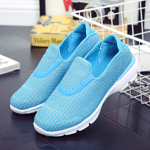 环球 夏季新款百搭运动鞋透气网鞋潮流跑步鞋
