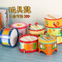 奥尔夫乐器手鼓玩具儿童鼓幼儿打击乐器敲敲鼓卡通小地鼓音乐玩具