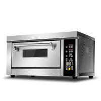 商用蒸汽电烤箱 面包披萨马卡龙欧包单层石板烘焙烤炉一层一盘