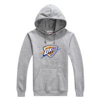 科比青少年学生厚外套运动连帽套头篮球卫衣男士 灰色