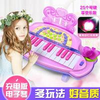 儿童电子琴玩具婴幼儿3-6岁1早教音乐益智启蒙礼物乐器女孩玩具琴