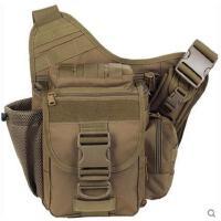 挎包胸前包大容量单反男摄影战术单肩鞍包登山包大号多功能鞍袋斜挎背包相机包