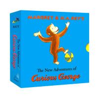 好奇猴乔治-原书典藏版 第二辑(共11册) 英文原版 Curious George Classic Adventures #2 (11 books)