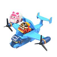 玩具 动漫模型儿童玩具卡利运输机Poli变形机器人
