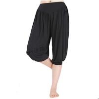 2018瑜伽服运动套装女裤广场舞蹈裤运动裤健身裤灯笼裤
