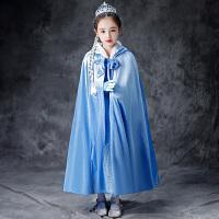冰雪奇缘爱莎公主裙加绒冬季女童长袖连衣裙艾莎裙子