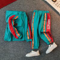 男童套装秋款洋气春秋季衣服潮运动两件套
