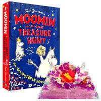 Moomin and the Great Treasure Hunt森林小人的寻宝游戏 立体书