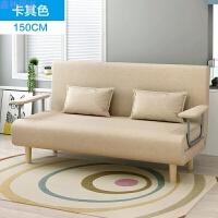 多功能布艺懒人沙发 简约现代卧室单人双人可折叠沙发床家具