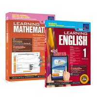 【现货】SAP Learning Mathematics English 1 学习系列附在线测评一年级练习册2册套装