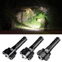 自行车灯强光车前灯夜骑装备可充电T6手电筒山地车车灯配件