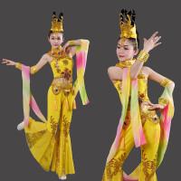 敦煌舞飞天舞蹈服琵琶舞嫦娥奔月民族舞演出服古典繁弦妙引表演服
