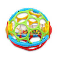 儿童早教玩具 软胶玩具摇铃玩具宝宝儿童益智早教礼盒装生日礼物 软胶手抓球