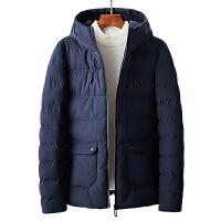 短款男士棉服连帽保暖棉衣2019冬季新款韩版男装青年工装棉袄外套