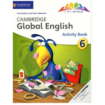 剑桥全球小学通用英语教材 cambridge global english activity book