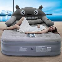 顺吉利充气床垫单人榻榻米家用加厚层懒人折叠床垫双人宿舍地铺SN1566 192x145x20cm