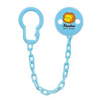 安抚奶嘴链防掉链夹 外出便携婴儿牙胶玩具防掉链挂绳