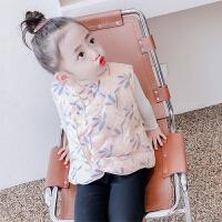 女童羽绒服轻薄2021新款儿童外套秋冬装宝宝白鸭绒中国风羽绒内胆
