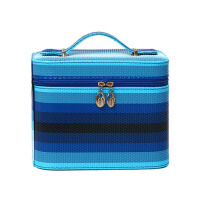 化妆包便携小号化妆品收纳箱手提化妆箱士防水洗漱包