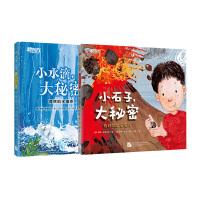 小水滴,大秘密+小石子,大秘密 共2册 地质通识教育绘本 新东方童书