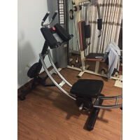 20180823030257648健身房商用健腹AB Coaster收腹�C美腹�^山�腹肌��器健身器材 黑色 lifet
