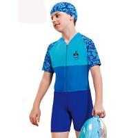 YINGFA英发 儿童连体五分平角泳衣Y0327 男女童休闲泳衣