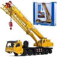 儿童合金工程车模型重型起重机大吊车汽车玩具车塔吊
