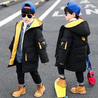 男童棉衣�和�冬�b男羽�q中�L款中大童棉�\冬季外套