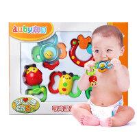 新生婴儿0-3-6-12个月益智玩具牙胶放心煮手摇铃宝宝早教