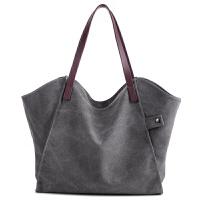 韩版潮加厚帆布包包大容量女包百搭单肩包简约环保袋购物袋