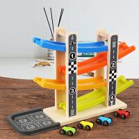 回力小汽车轨道滑翔车宝宝玩具 1-2-3周岁男女孩 4岁儿童惯性