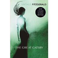 英文原版 菲茨杰拉德:了不起的盖茨比 F.Scott Fitzgerald: The Great Gatsby
