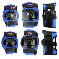 20180411191741237动感ACTION 308儿童运动安全保护具 护掌护膝护肘6件套装备