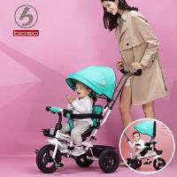 儿童三轮车宝宝手推车小孩自行车儿童车脚踏车1-3岁