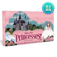 Princesses游戏舞台:公主 儿童欢乐游戏套装 英文原版读物