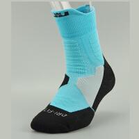 杜兰特科比精英篮球袜 运动专业袜 中筒加厚 詹姆斯欧文黑曼巴运动袜子男毛巾袜