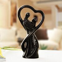 工艺品摆件 简约现代 创意时尚家居客厅陶瓷装饰品卧室桌面小摆设