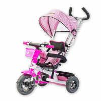 灿成儿童三轮车 宝宝三轮车脚踏车充气轮婴儿三轮车手推车