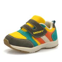 史努比童鞋儿童健康机能鞋透气休闲鞋