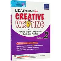 【首页抢券300-100】SAP Learning Creative Writing 2 二年级英语创意写作练习册 附赠