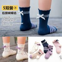 儿童袜子春秋女童袜公主花边袜中大童薄款中筒袜宝宝棉袜