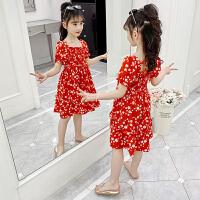 女童连衣裙夏装大童女孩夏季公主裙子