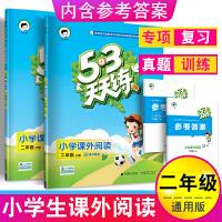 53天天练小学课外阅读二年级上册下册语文